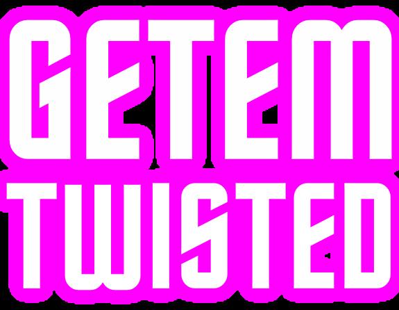 Getem Twisted Front Logo